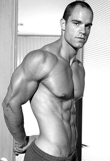 Brian Wade posing