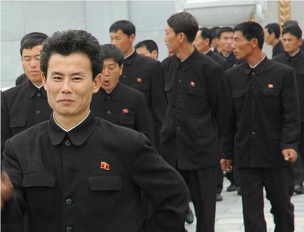 Black can look like a uniform