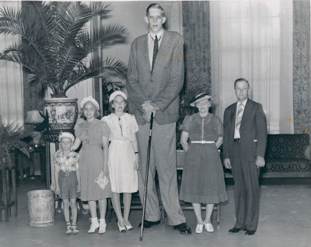 Robert Wadlow used to be the tallest person in the World