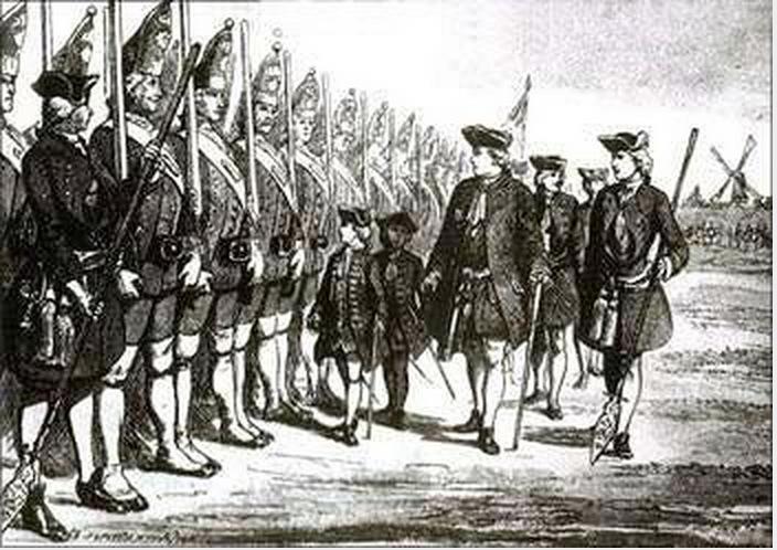 Tall army