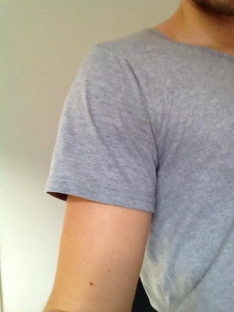grey tall tee sleeve