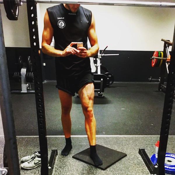 Rued Leg Muscle