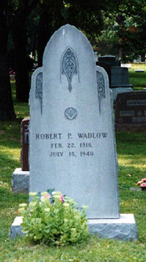 Robert Wadlow's grave