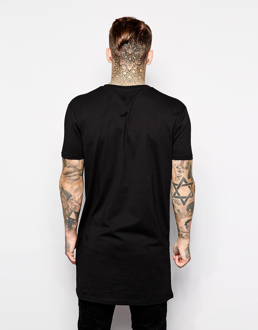 Black t shirt xxl - Tall Tee From Asos 3