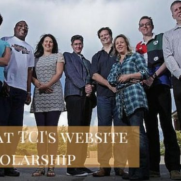 A look at TCI's website and scholarship