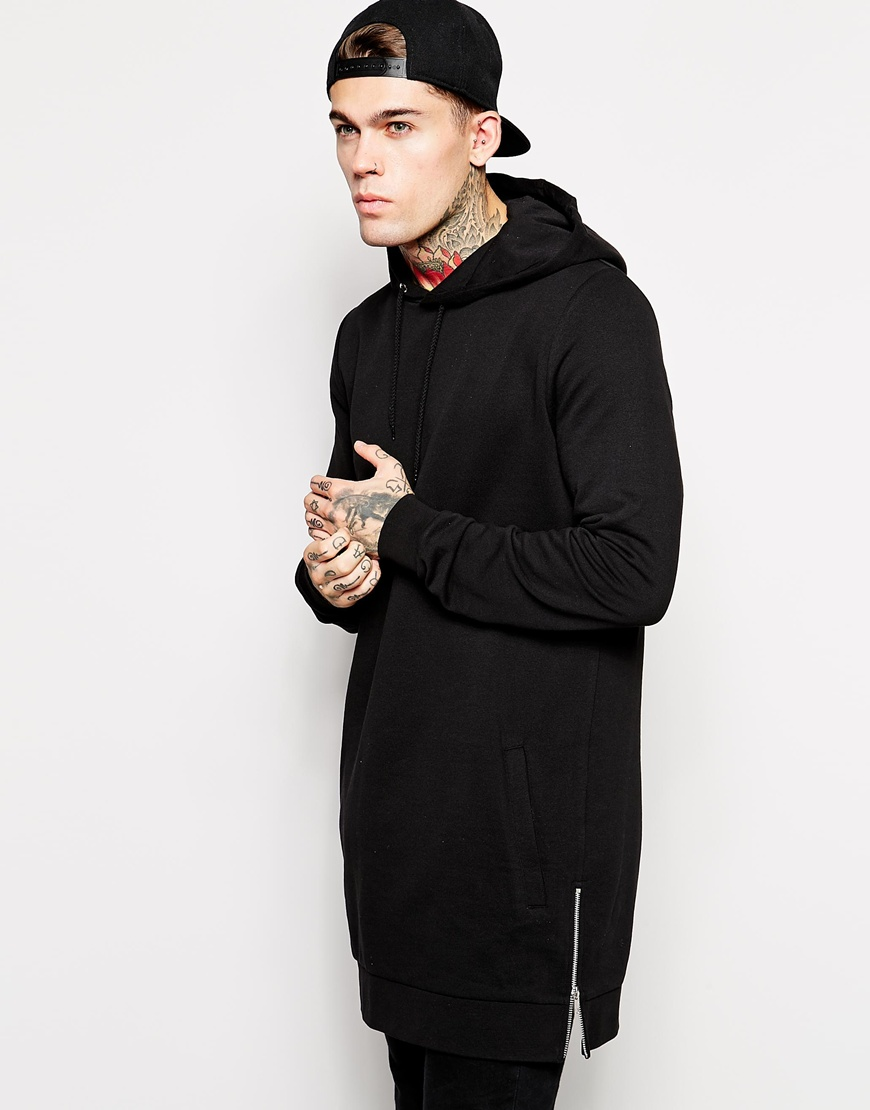 Super longline hoodie