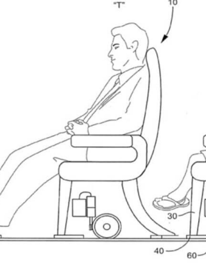 New Technology Gives Tall People Extra Legroom
