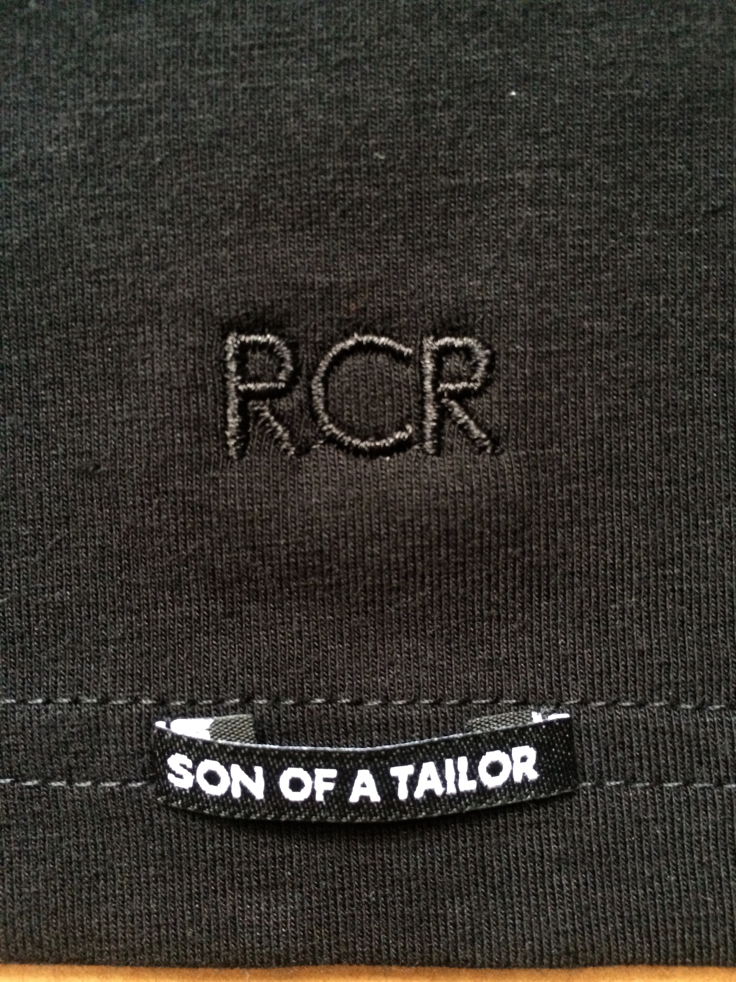 Son of a Tailor embroidery
