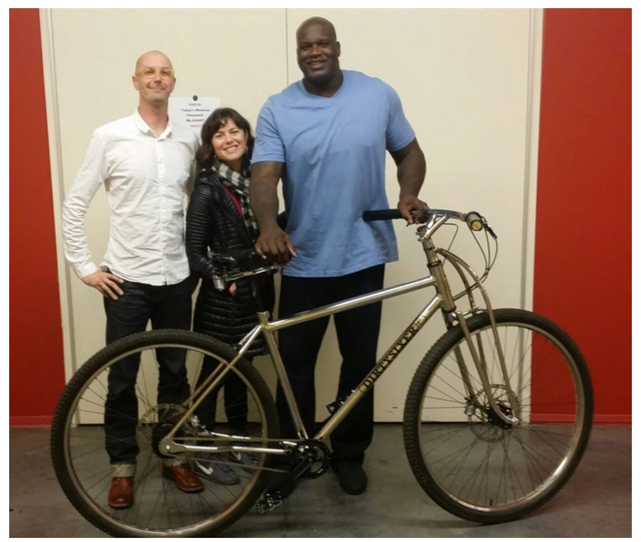 bike for tall riders shaquille