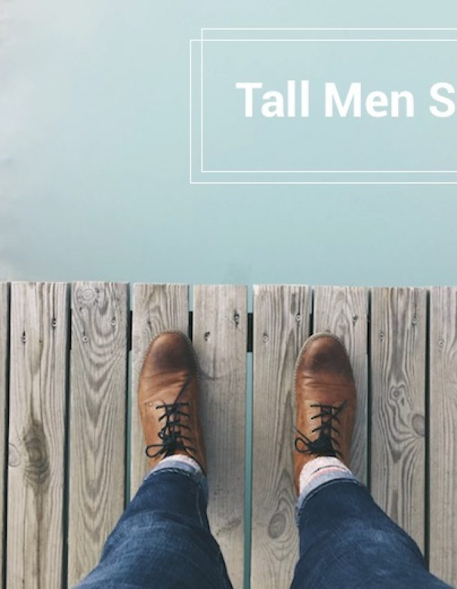 Tall Men Shoes: 7 Great Webshops for Guys with Large Feet