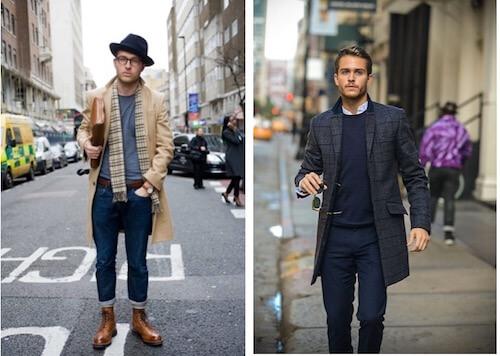tall man coat