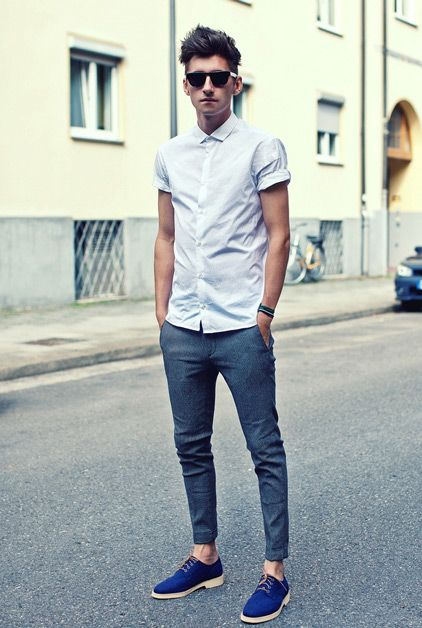 Dressing Style for Slim Guys 1