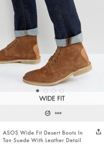 Asos Tall - slim-desert-boots-suede
