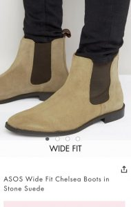 Asos Tall - chelsea-boots-stone-suede