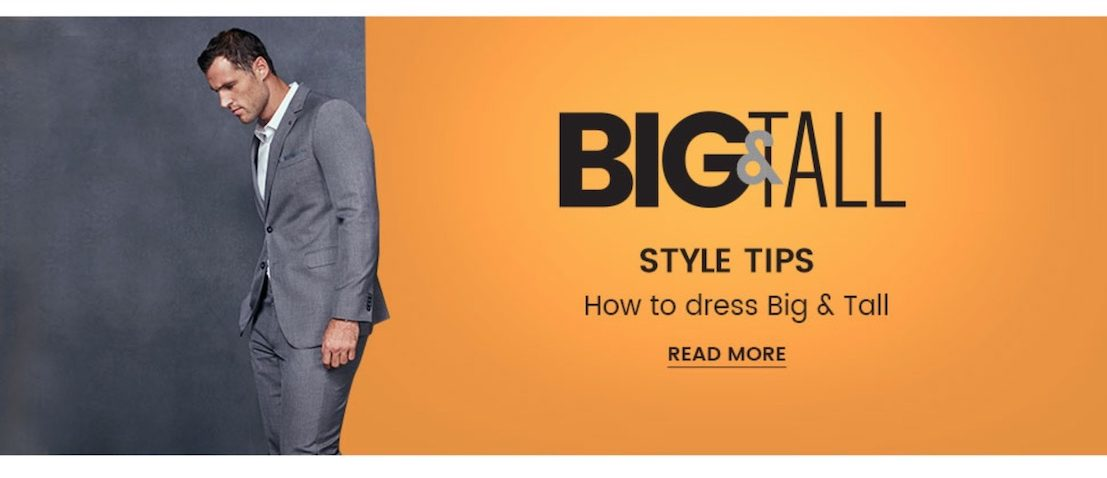 big and tall style tips
