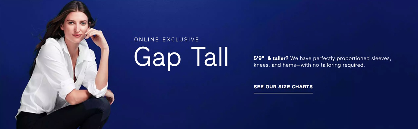 GAP Tall Cover image