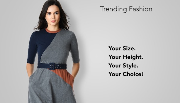 eShakti Clothing store for tall women