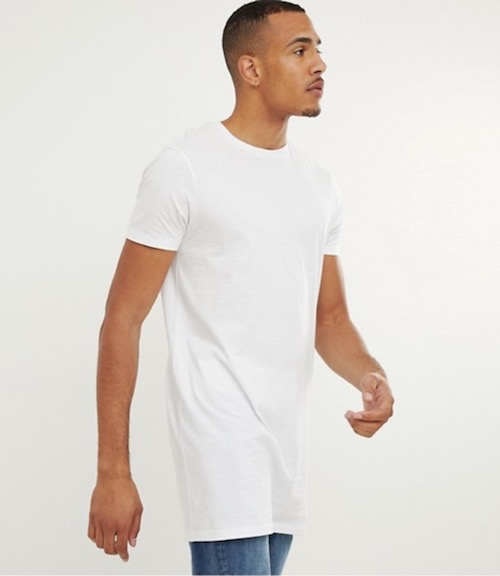 Asos Tall Extra Long White T Shirt