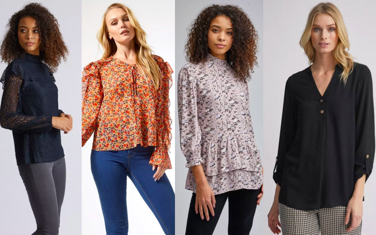 Blouses for Tall Women - Dorothy Perkins