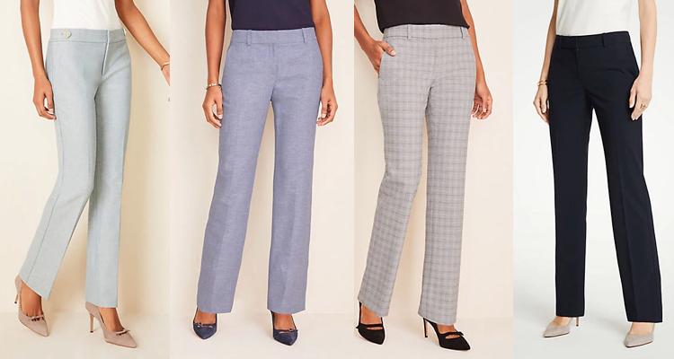 Dress Pants for Tall Women - Ann Taylor
