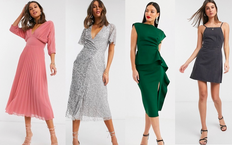 Dresses for Tall Women - Asos
