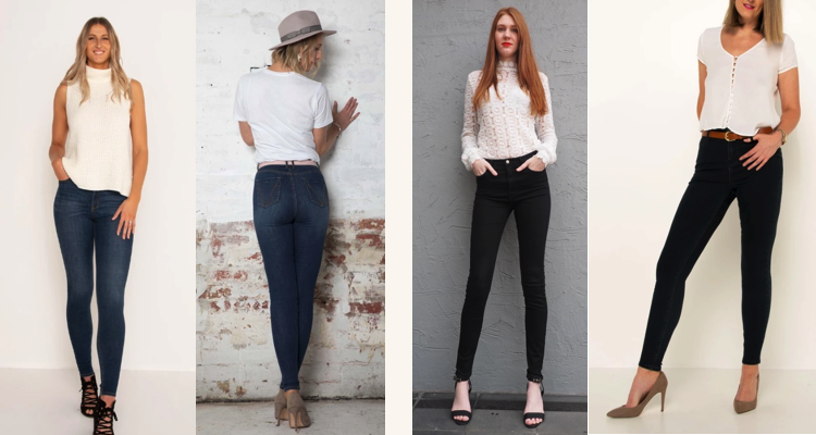Height of Fashion Jeans for Tall Women