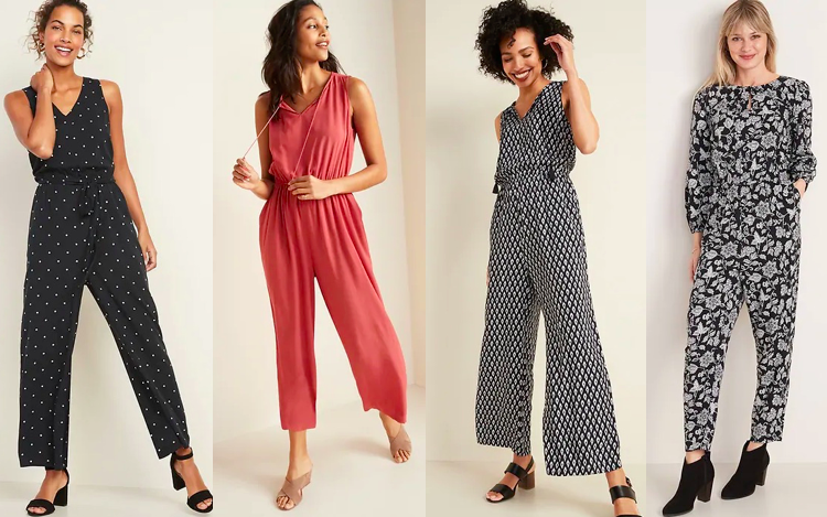 Jumpsuits for tall women - Old Navy