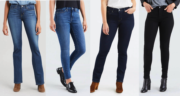 Levi's Jeans for Tall Women