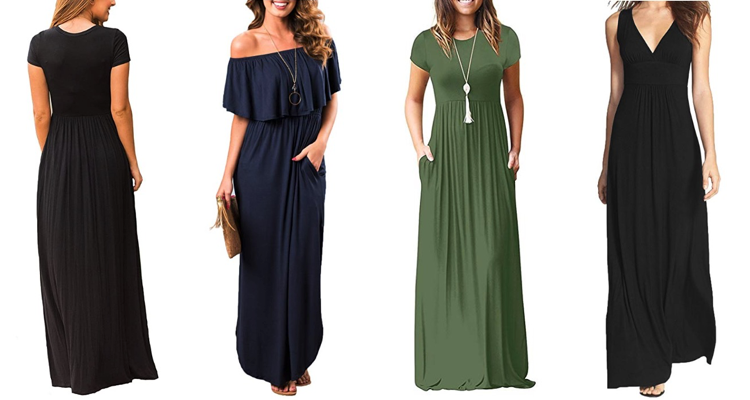 Maxi dresses for Tall Women Amazon