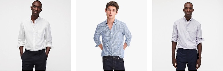 Shirts for Tall Men - J Crew
