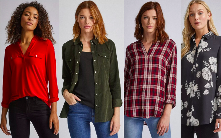 Shirts for Tall Women - Dorothy Perkins