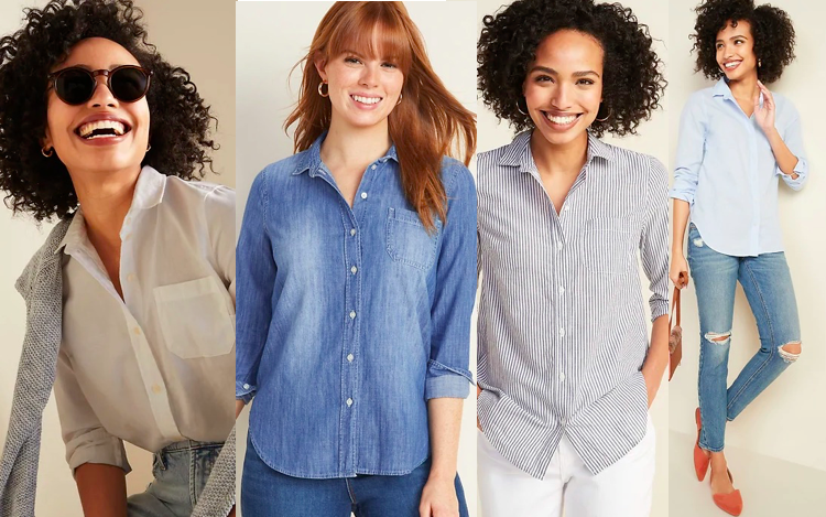 Shirts for Tall Women - Old Navy
