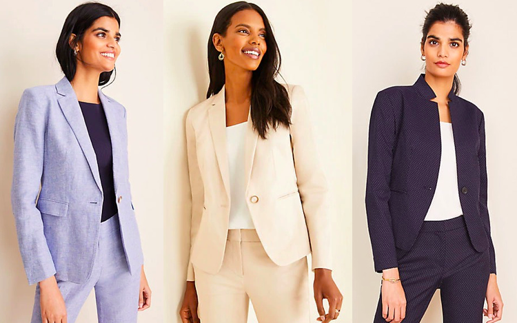 Suits for Tall Women - Ann Taylor