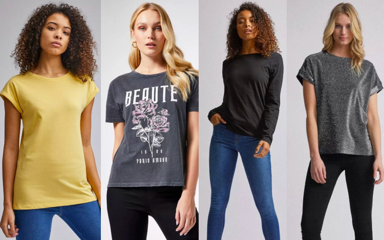 T-shirts for Tall Women - Dorothy Perkins