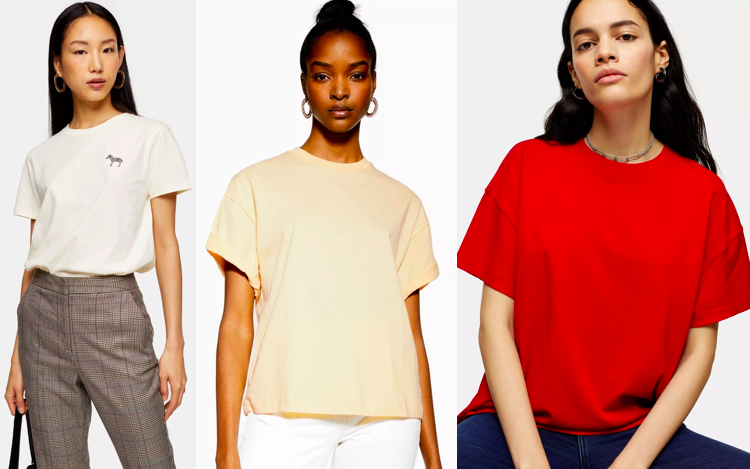 T-shirts for Tall Women - Topshop