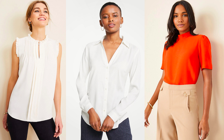 Tops for Tall Women - Ann Taylor