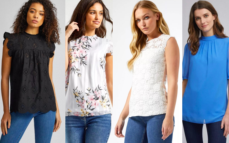 Tops for Tall Women - Dorothy Perkins