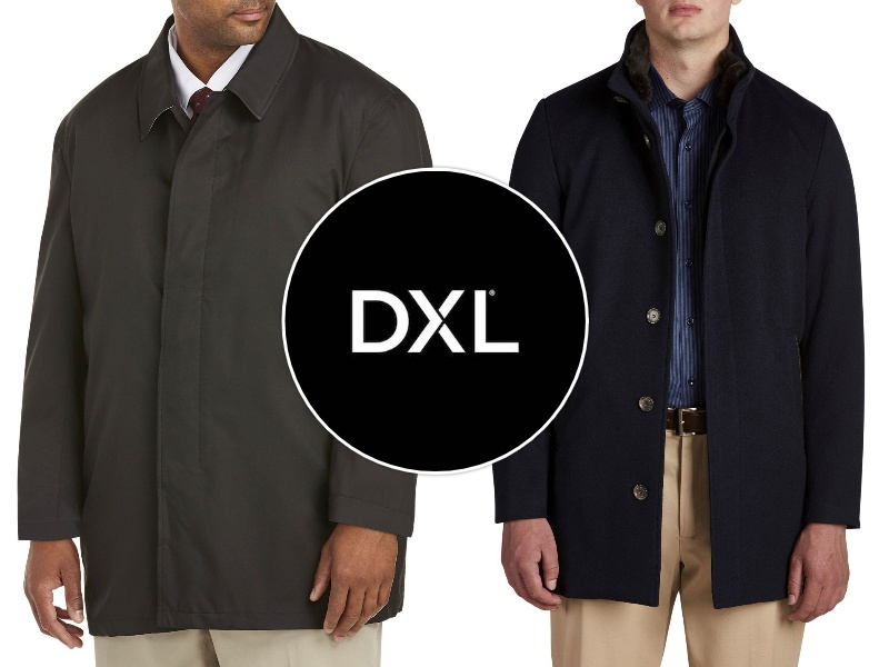Tall Men's Jackets - DXL
